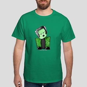 FrankenWestie Dark Halloween T-Shirt