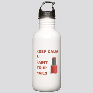 KEEP CALM... Stainless Water Bottle 1.0L