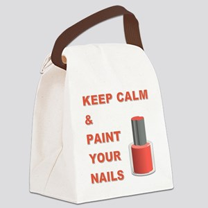 KEEP CALM... Canvas Lunch Bag