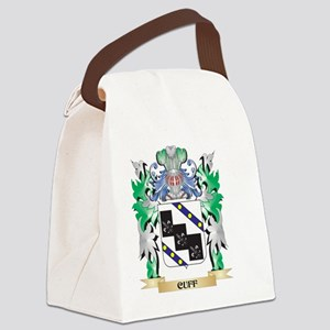 Cuff Coat of Arms - Family Crest Canvas Lunch Bag
