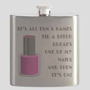 ITS ALL FUN GAMES.... Flask
