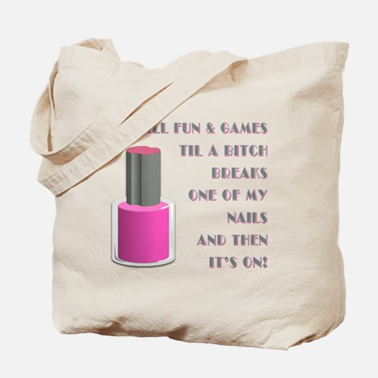 ITS ALL FUN GAMES.... Tote Bag
