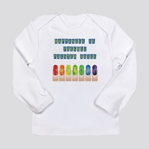 HAPPINESS IS... Long Sleeve Infant T-Shirt
