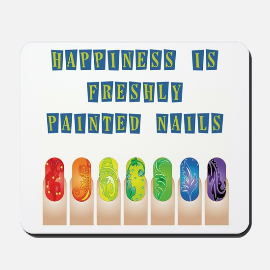 HAPPINESS IS... Mousepad