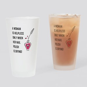 A WOMAN IS... Drinking Glass
