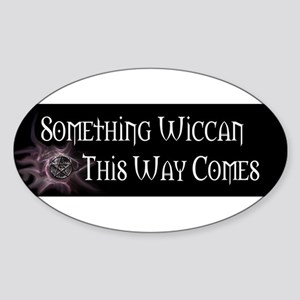 Pagan Pride Oval Sticker