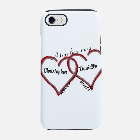 A true love story: personalize iPhone 8/7 Tough Ca