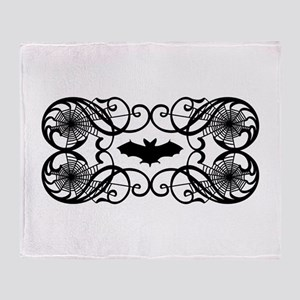 Halloween Bat Throw Blanket