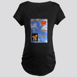 What is CRPS Balloons Blue Sky Maternity T-Shirt