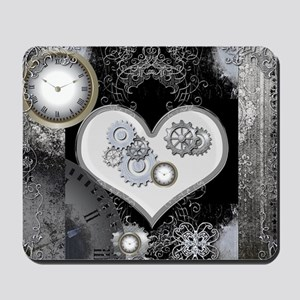 Steampunk, wonderful heart Mousepad