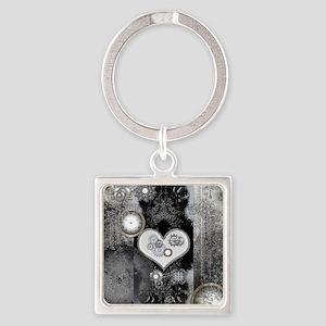 Steampunk, wonderful heart Keychains