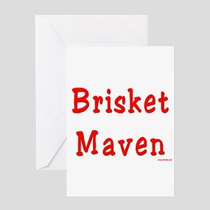 Brisket Maven Greeting Card