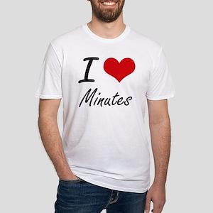 I Love Minutes T-Shirt