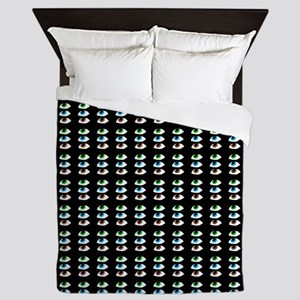 eyeballs pattern Queen Duvet
