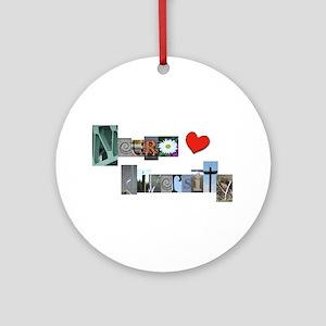 Celebrate Neurodiversity Ornament (round)
