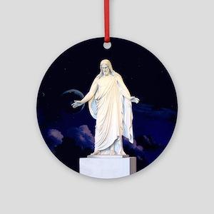 LDS Christus Round Ornament