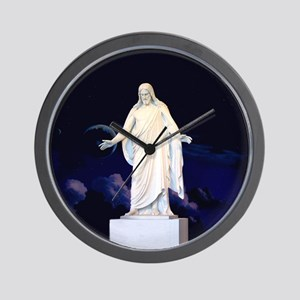 LDS Christus Wall Clock