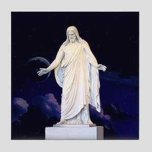 LDS Christus Tile Coaster