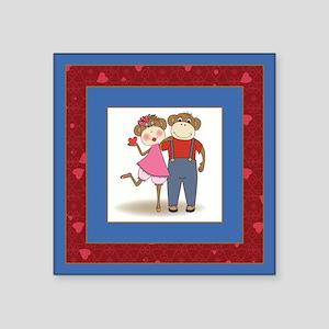 MONKEY COUPLE Sticker