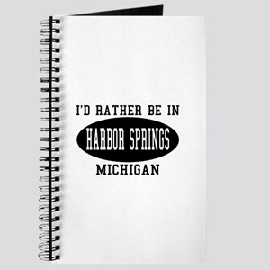 I'd Rather Be in Harbor Sprin Journal