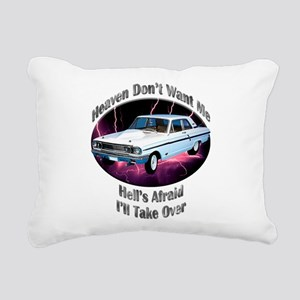 Ford Thunderbolt Rectangular Canvas Pillow