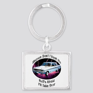 Ford Thunderbolt Landscape Keychain