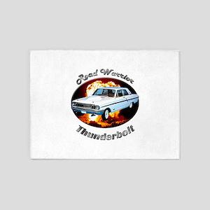 Ford Thunderbolt 5`x7`Area Rug