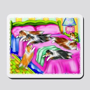 Sheltie Pink Comfort Mousepad