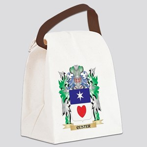 Custer Coat of Arms - Family Cres Canvas Lunch Bag