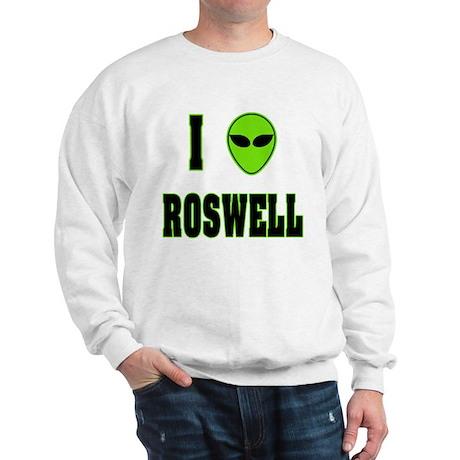 I Love Roswell Sweatshirt
