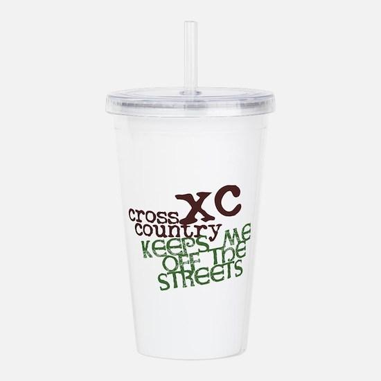 XC Keeps off Streets © Acrylic Double-wall Tumbler