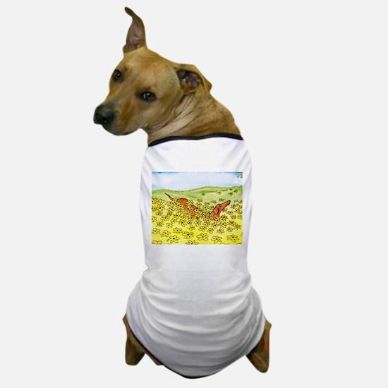 Spring Flowers Dachshund Dog T-Shirt