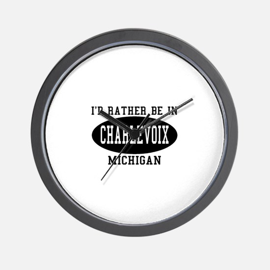 I'd Rather Be in Charlevoix, Wall Clock
