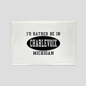 I'd Rather Be in Charlevoix, Rectangle Magnet
