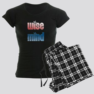 Wise Mind Women's Dark Pajamas