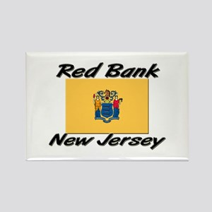 Red Bank New Jersey Rectangle Magnet