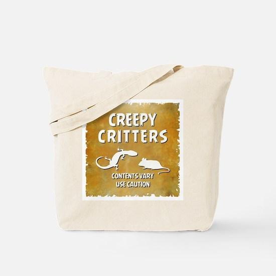 CREEPY CRITTERS Tote Bag