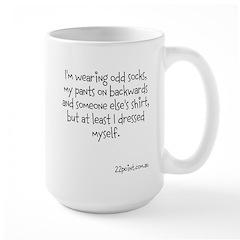 I'm Wearing Odd Socks Large Mug Mugs