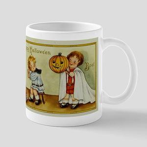 Vintage Halloween Postcard 9 Mugs