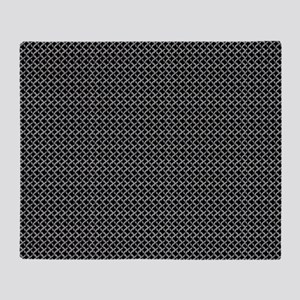 Faux Chainmail Throw Blanket