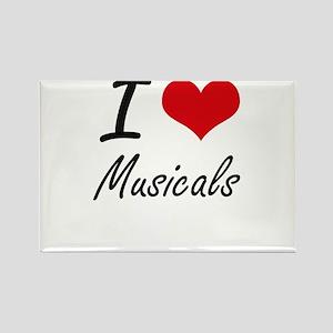 I Love Musicals Magnets