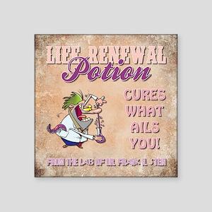 LIFE RENEWAL POTION Sticker