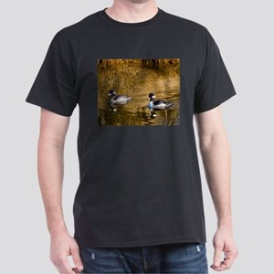 Bufflehead swimming in the winter T-Shirt