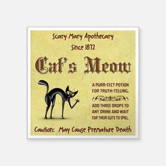 CATS MEOW Sticker