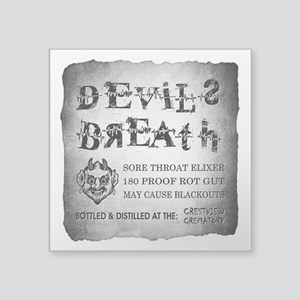 DEVILS BREATH Sticker