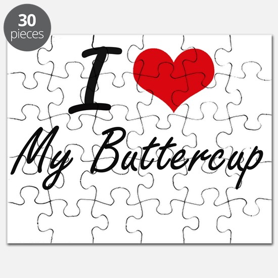 I Love My Buttercup Puzzle