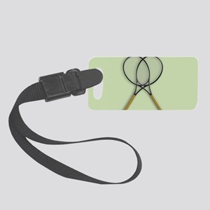 Tennis Sports Design Small Luggage Tag