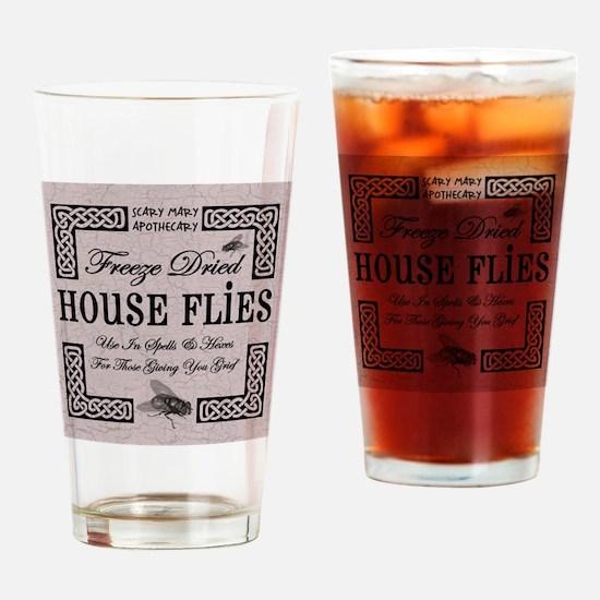 HOUSE FLIES Drinking Glass