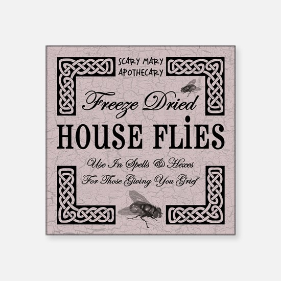HOUSE FLIES Sticker