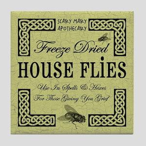 HOUSE FLIES Tile Coaster